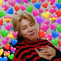 Read Jimin from the story Home is where my hybrids are (BTS x Reader) by with-a-pinch-of-suga with reads. Namjoon, Taehyung, Hoseok, Memes Br, New Memes, Funny Memes, Bts Pictures, Reaction Pictures, Bts Jin