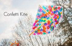 A DIY Confetti Kite