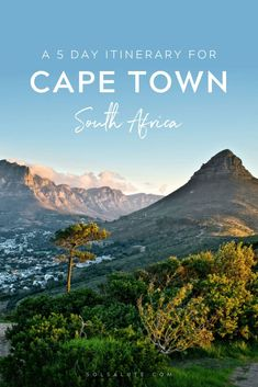 The perfect 1 week in Cape Town Itinerary | 5 days in Cape Town South Africa | Itinerary Cape Town in one week | Cape town in a week | What to do in Cape Town | Things to do in Cape Town | Where to stay in Cape Town | Cape town day trips | day trips from Cape Town | Where to eat in Cape Town & Best walking tours in Cape Town #CapeTown #SouthAfrica