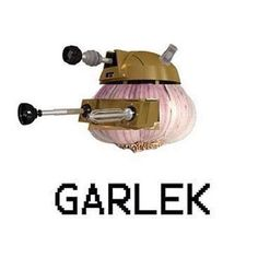 Doctor Who garlek dalek