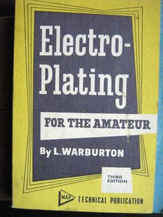 75 best diy electroplating electroforming images on pinterest electro plating for the amateur metalworkingdiy solutioingenieria Choice Image