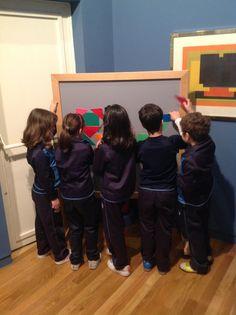 CC. San Juan Bosco 3º EP. Interactando con el arte abstracto.