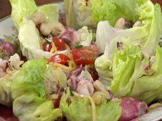 Salada de manga verde