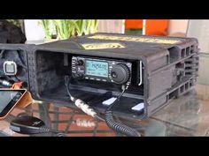 Radio Kit, Communication Methods, Ham Soup, Emergency Preparation, Ham Radio, Office Phone, Homesteading, Woods, Survival