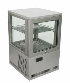 Counter top four sided glass show case coolers display fridge,dessert,sandwich display/bakery showcase cooler