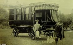 Perhaps the oldest camper/trailer |The Wanderer, commissioned by Scotsman Dr. William Stables in 1884, is an impressive 30 feet long and the epitome of luxury.