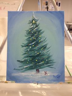 Buntes Weihnachten, Acryl The post Buntes Weihnachten, Acryl appeared first on West. Christmas Canvas, Christmas Paintings, Christmas Art, Diy Painting, Painting & Drawing, Simple Acrylic Paintings, Learn To Paint, Pictures To Paint, Diy Art