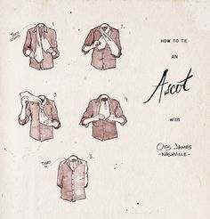 How to tie an ascot costumes mens fashion and ascot ties how to tie an ascot ccuart Image collections