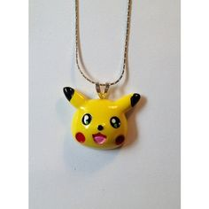 Pokemon Pikachu Necklace ❤ liked on Polyvore featuring jewelry, necklaces, accessories and lullabies