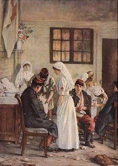Henri Gervex - L'ambulance de la gare de Poitiers