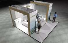x Modular Exhibition Stand – 3 Slat Wall, Exhibition Stands, Stand Design, Beams, Home Decor, Decoration Home, Room Decor, Home Interior Design, Booth Design