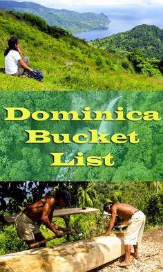 Dominica Bucket List