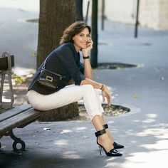 ines de la fressange uniqlo - Google Search