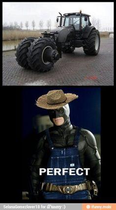 If batman was a farmer