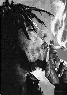 Image of Bob Marley Print