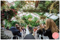Maria and Reinhard's gorgeous whimsical pretty pink and sea green fall garden wedding ceremony and reception at Madsen's Greenhouse in Newmarket Greenhouse Supplies, Greenhouse Plans, Event Venues, Wedding Venues, Wedding Photos, Wedding Decor, Wedding Stuff, Greenhouse Wedding, Garden Wedding