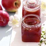 Æble-blommemarmelade - Opskrifter    http://www.dansukker.dk/dk/opskrifter/aeble-blommemarmelade.aspx  #æble #blomme #marmelade #dansukker