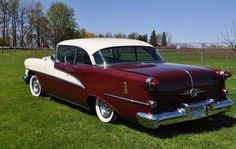 1955 Olds Ninety Eight Holiday Coupe