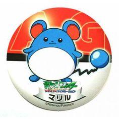 Pokemon 2006 Sapporo Ichiban Ramen AG Collection Series Marill Sticker