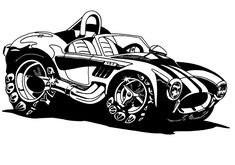 ( 2017 ♡ RESTFUL DRAWINGS ) ☞ Shelby Cobra.