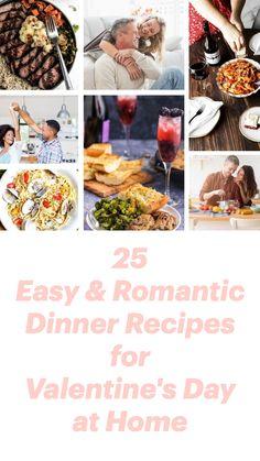 Easy Romantic Dinner, Romantic Dinner Recipes, Romantic Dinners, Easy Dinners, Garlic Prawn Pasta, Roasted Cornish Hen, Roast Rack Of Lamb, Blonde Eyebrows, Oven Roasted Chicken