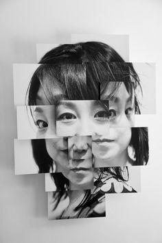 Photosculptures - Portrait Sculpture Photo Series by Brno Del Zou Photography Collage, Creative Photography, Portrait Photography, Face Collage, Collage Portrait, Collage Collage, Photomontage, Photo Mannequin, Zou
