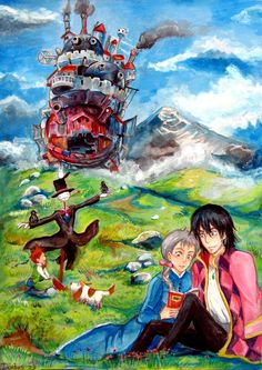Howl's Moving Castle. Studio ghibli