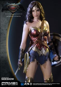 BvS Wonder Woman Statue - Prime1 Studio, Alvaro Ribeiro on ArtStation