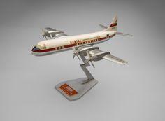Qantas Empire Airways Lockheed L-188 Electra  1950s