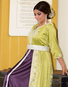 on Pinterest | Caftans, Caftan marocain and Mixing of colours