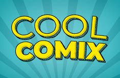 How to Create a Cool Comic Text Effect in Photoshop Design Psdtuts Create A Cartoon, Create A Comic, Photoshop Design, Photoshop Tutorial, Adobe Photoshop, Cartoon Design, Cartoon Styles, Game Font, Comic Text