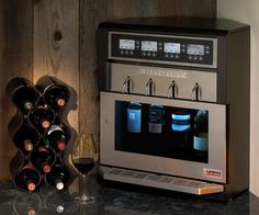 WineStation by Napa Technology the only intelligent wine preservation and dispensing system that allows each and every glass whether it's the first pour or the last - to be the freshest.