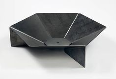 Modern Steel Origami Fire Pit 36 FREE SHIPPING