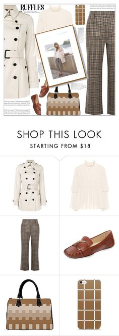 """""""Chic Fall Fashion"""" by atelier-briella ❤ liked on Polyvore featuring Burberry, See by Chloé, Marc Jacobs and Frances Valentine"""