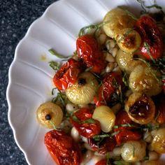 Roasted Tomatoes and Cipollini