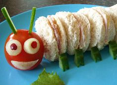 Make food kid friendly by cutting things into bite sized pieces and arranging them in fun designs. You may even find them eating their veggies more willingly!
