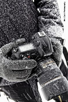 A chilly shoot... Yes for Nikon <3