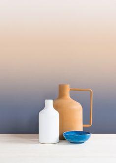 papier peint tie and dye sunrise Aurora - Le blog déco de MLC