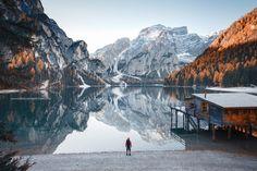 Mornings at Lake Braies by guerel sahin #xemtvhay