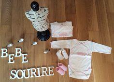 https://www.facebook.com/www.bebesourire.fr/  Boutique de roupa de Bebe e pequenas doçuras  Em breve Loja fisica  Entregas por correio ou ao domicilio