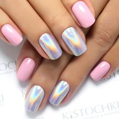 Pink Chrome Nail Designs picture4