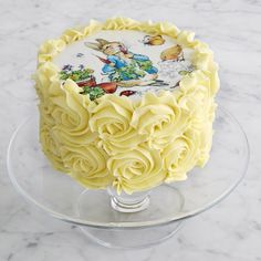 Peter Rabbit Cake - I so want this cake!!!!!