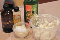The Perfect Natural Hair Cream- DIY! | Curly Nikki | Natural Hair Styles and Natural Hair Care (aloe vera gel, shea butter, coconut oil, jojoba, jamaican black castor oil)