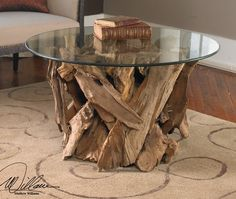 Driftwood Cocktail Table. $875