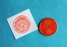 Items similar to citrus slice clear polymer rubber stamp on Etsy Citrus Events, Eraser Stamp, Strange Fruit, Key West Wedding, Stamp Carving, Handmade Stamps, Making Greeting Cards, Tampons, Mark Making