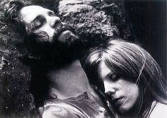 Jim Morrison and Pamela Courson. One of my favourite photos