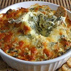 Yardhouse Copycat Spinach Cheese Dip Recipe