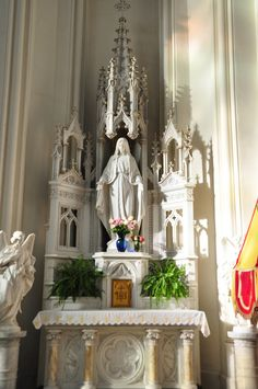 Nook Dedicated to Mary, The Cathedral Basilica of the Immaculate Conception