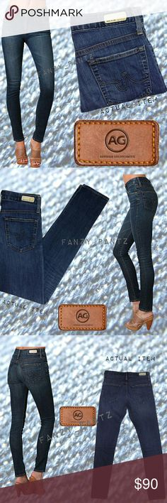 ✅ AG Adriano Goldschmied Farrah High Rise Skinny AG Farrah High Rise skinny, stretch jeans in 6 year wash. Excellent condition, size 27. NO TRADES  reasonable offers through offer feature   Firm Ag Adriano Goldschmied Jeans Skinny