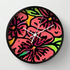 Best Wall Clocks, Tic Toc, Cool Walls, Flora, Home Decor, Decoration Home, Room Decor, Plants, Home Interior Design